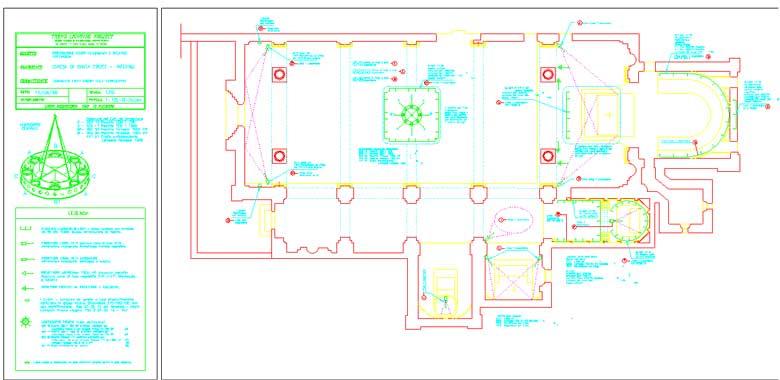 Schema impianto elettrico appartamento dwg idee creative for Schema impianto gas dwg