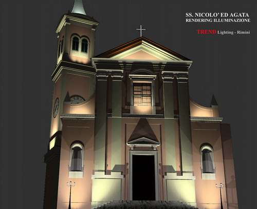 Diflumeri lighting design progettazione illuminazione chiese
